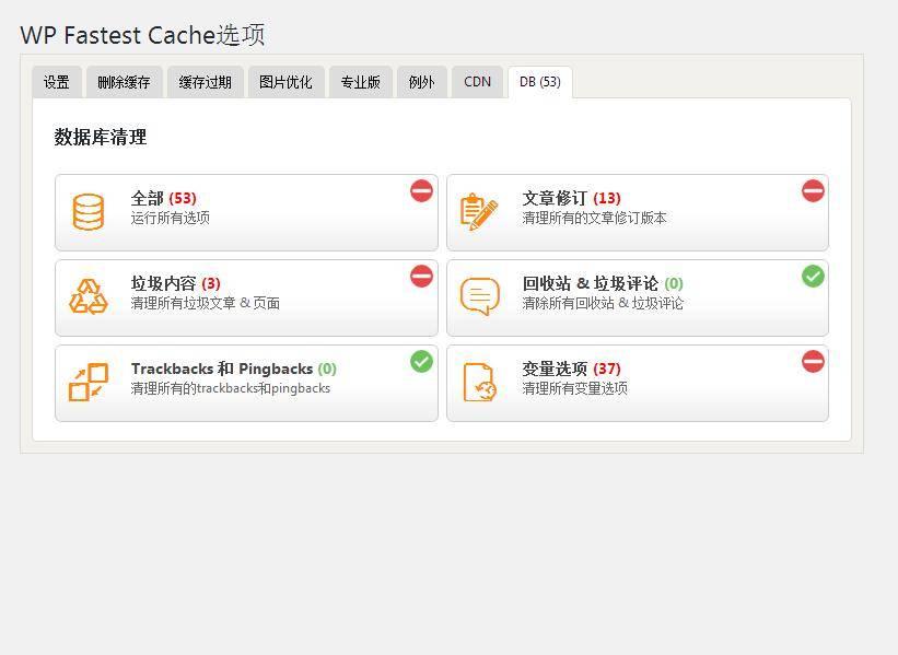 中文高级版WP Fastest Cache Premium 缓存加速优化插件[更新至V1.5.2]